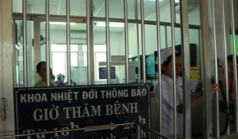 병실에 출입하기 위해서는 이같은 철문을 지나야 한다/출처=보건신문